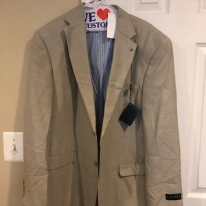 Men's Ralph Lauren khaki sport coat 44R $275